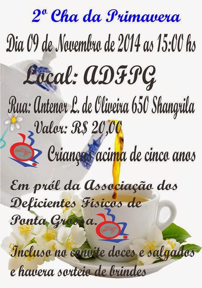 2° Chá da Primavera da A.D.F.P.G
