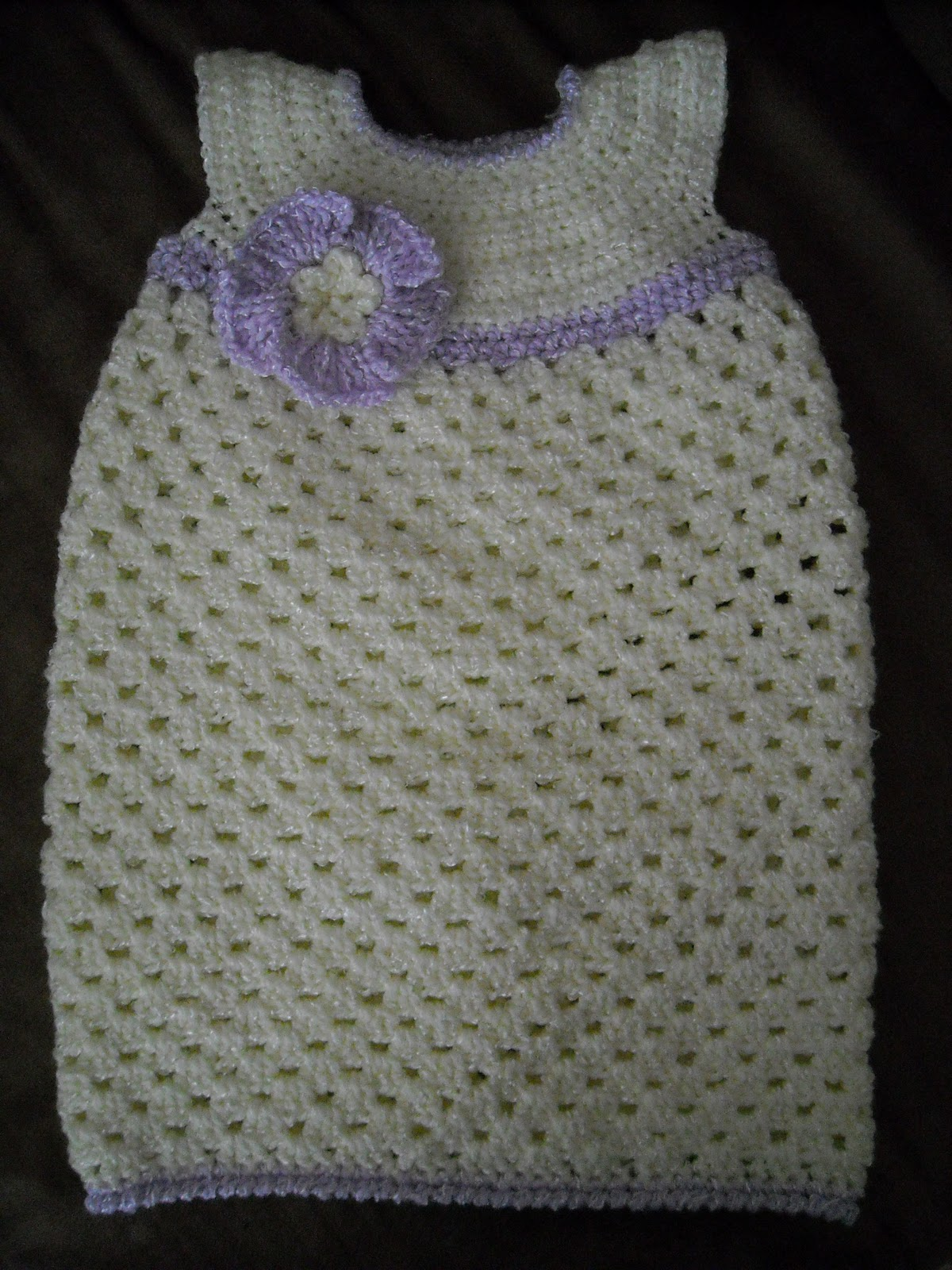A Crafty Cook: Crocheted Baby Gifts