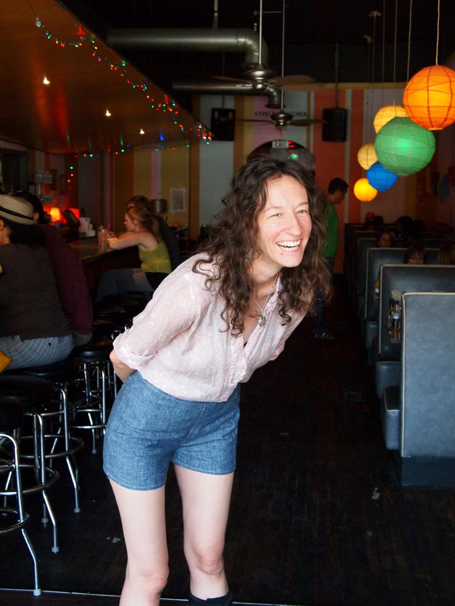 Emily's Hemp Denim shorts