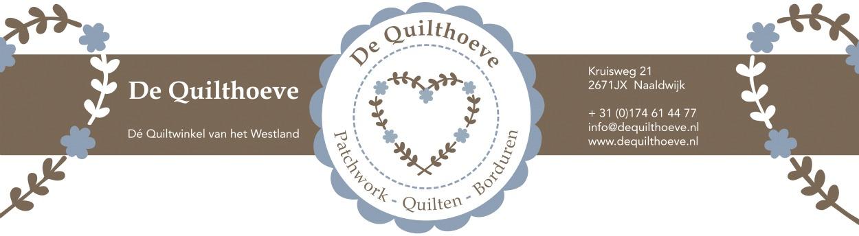 Ramen Lappen en kleine Supergoof Trunkshow op 24 oktober bij De Quilthoeve in Naaldwijk