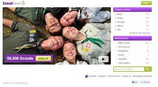 Jejaring Sosial Pramuka Dunia, Indonesia