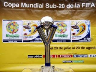 Trofeo del Mundial Sub-20 está Bogotá