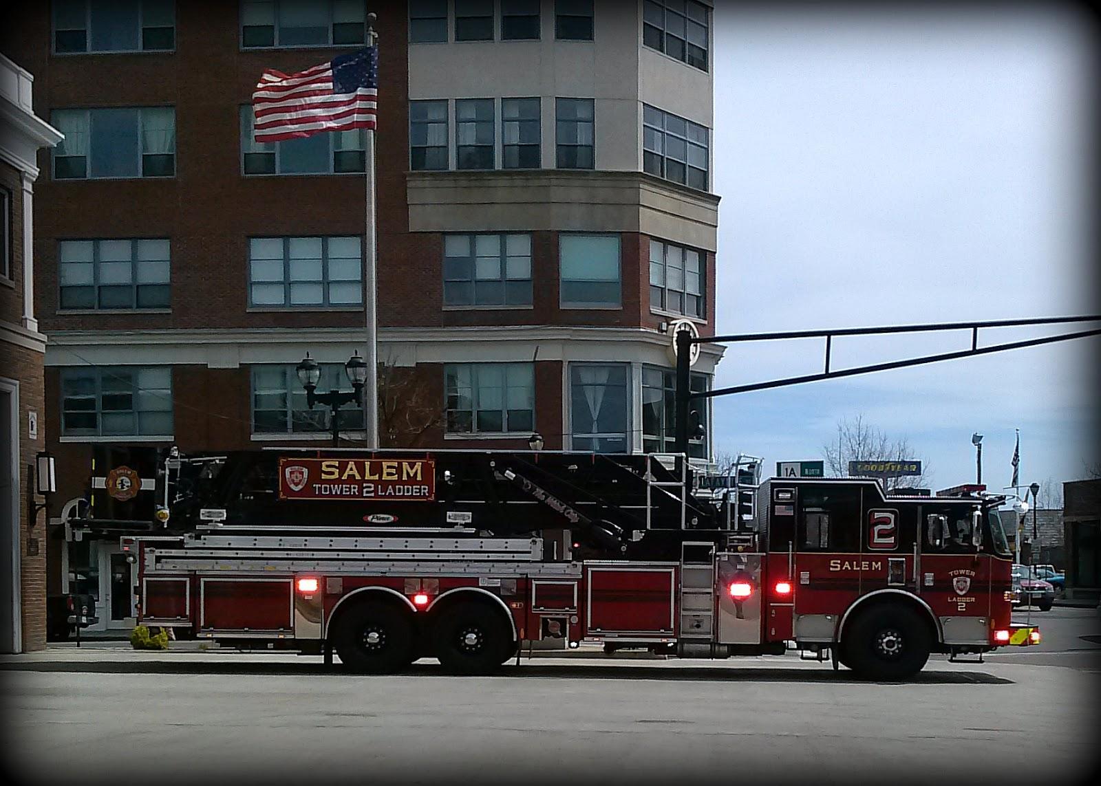 Salem Fire Dept. Ladder 2