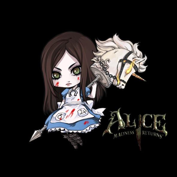 ::chibi american macgee's Alice:: por rann-rann
