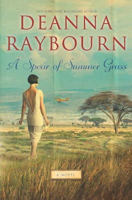 Book cover of A Spear of Summer Grass by Deanna Raybourn