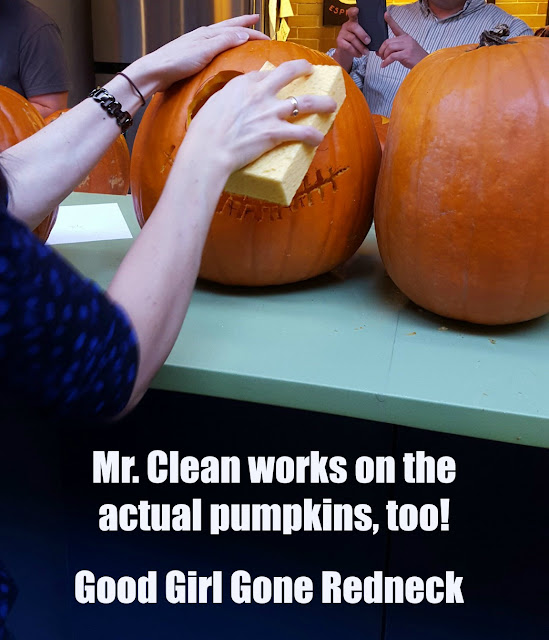 Halloween, pumpkins, easy clean-up, party time, fun with friends