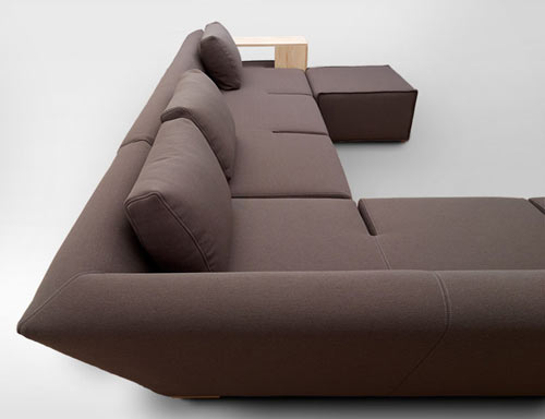 hocky, sofa, modular, furniture, merely, marcin wielgosz, functionality, armchairs, movable armrests, table