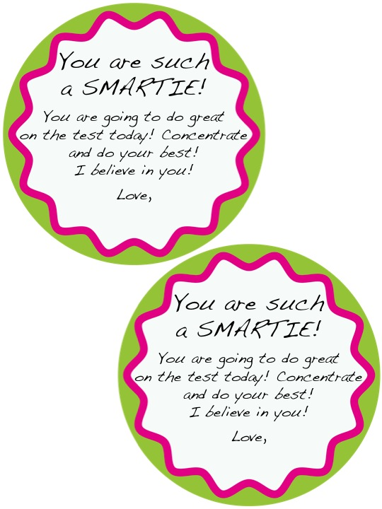 Adventures of Ms. Smith: Testing Motivation: Smarties! Smarties Test