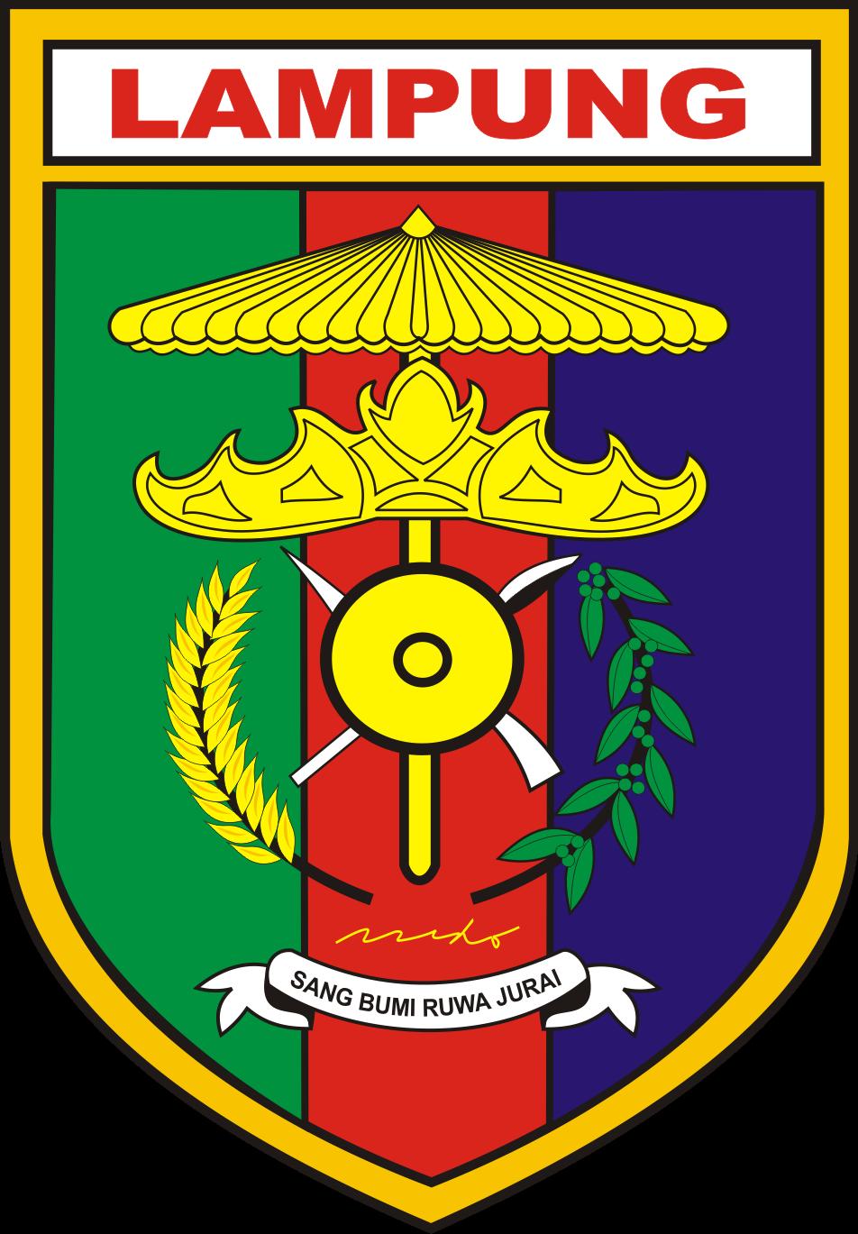 Lambang Provinsi Lampung Kumpulan Logo Indonesia