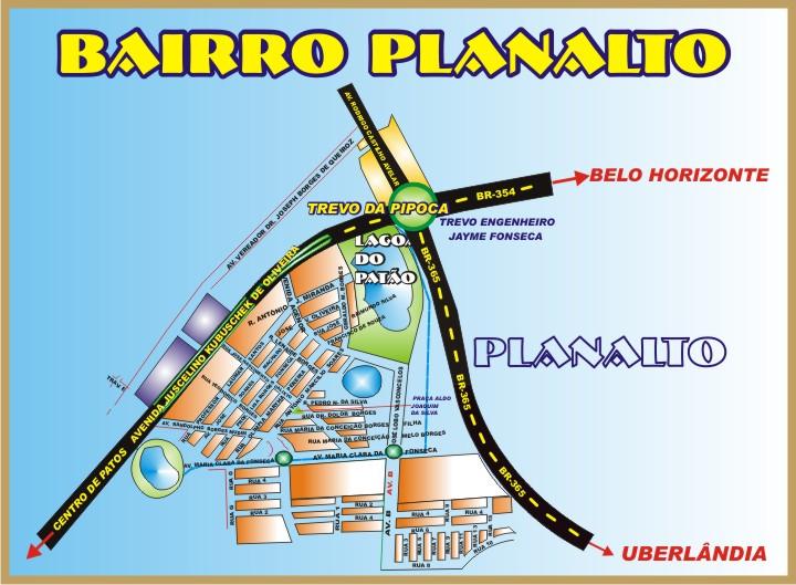 Mapinha do Bairro Planalto - Patos