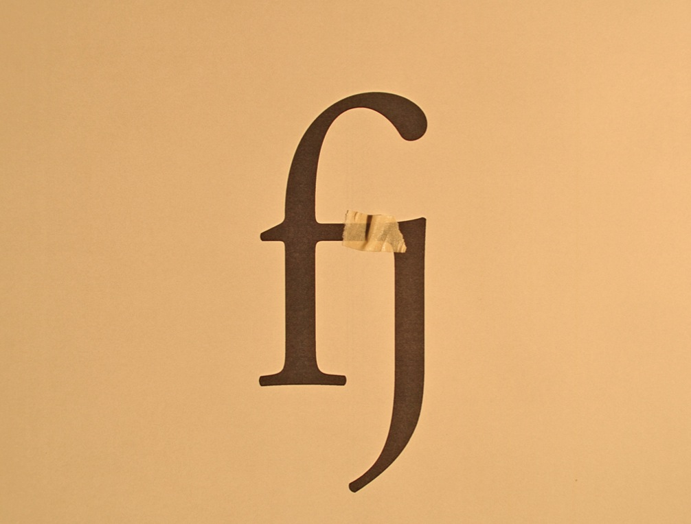 nicetype a blog about fonts typography graphic design how ligatures are made