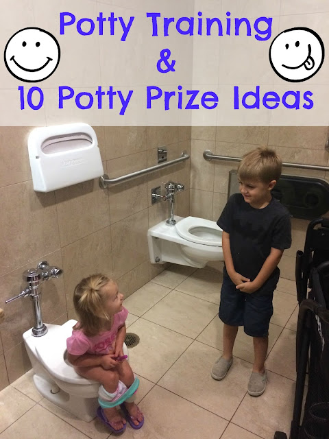 Potty Prize Ideas, Potty training, 3 day potty training method