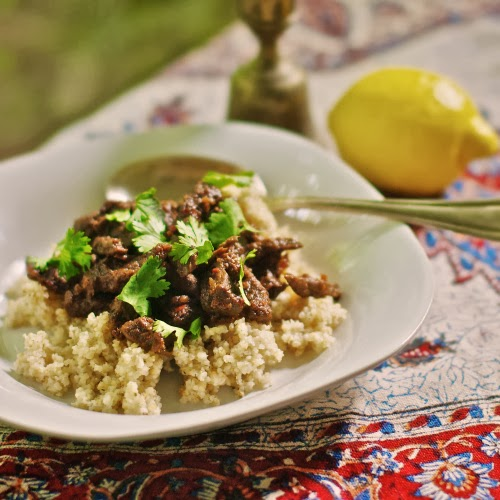 Braised Beef with Harissa & Preserved Lemon