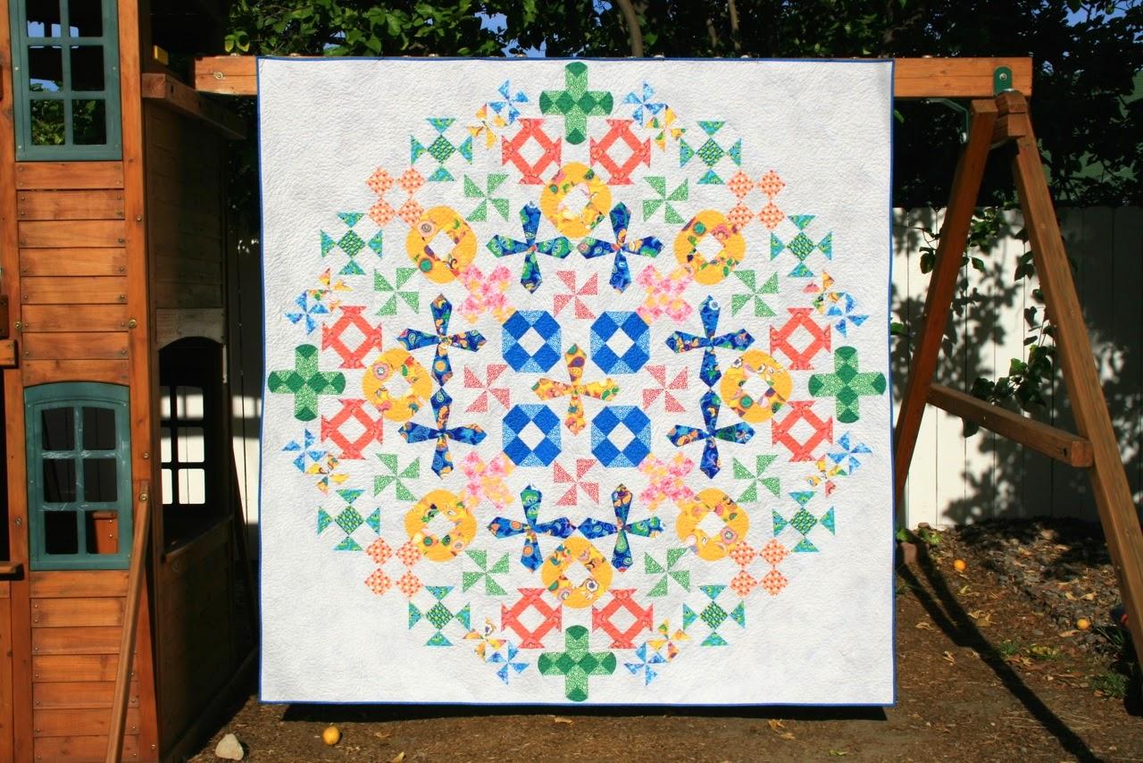 Better Off Thread, Bella Caronia, Windham Fabrics, Spring Bloom Fabric