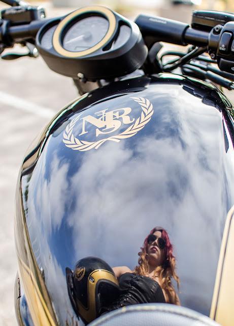 Judit sesión moto Color