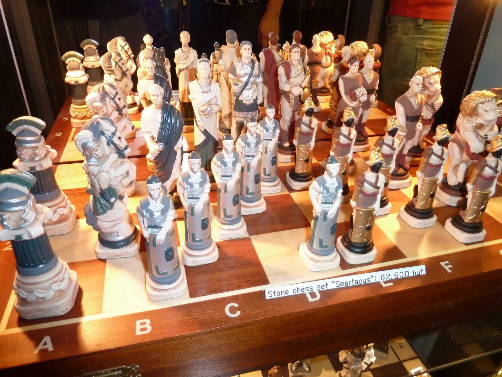 Noah in budapest cool chess sets - Coolest chess sets ...