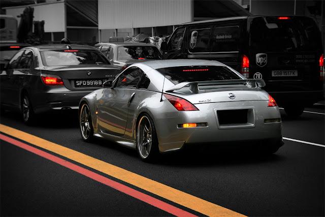 Nissan 350Z, Fairlady Z, JDM, japońskie, sportowe, coupe, V6, RWD, zdjęcia