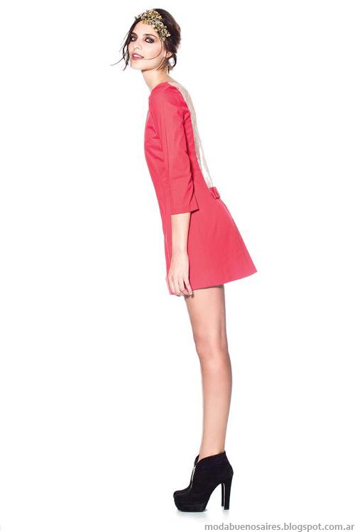 Maria Dahn invierno 2013 vestidos