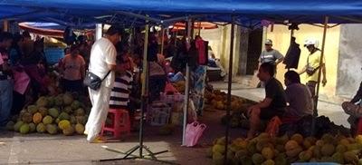 buah durian, gambar durian
