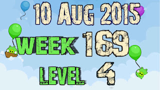 Angry Birds Friends Tournament level 4 Week 169