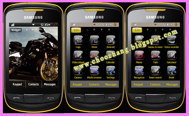 CORBY 2 THEMES: Big Bike V1 Theme by Corby Cat