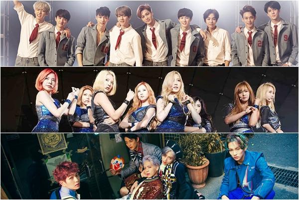 EXO, SNSD dan SHINee Jadi Selebriti Korea Terpopuler di Twitter Tahun 2015 – Kpop Chart