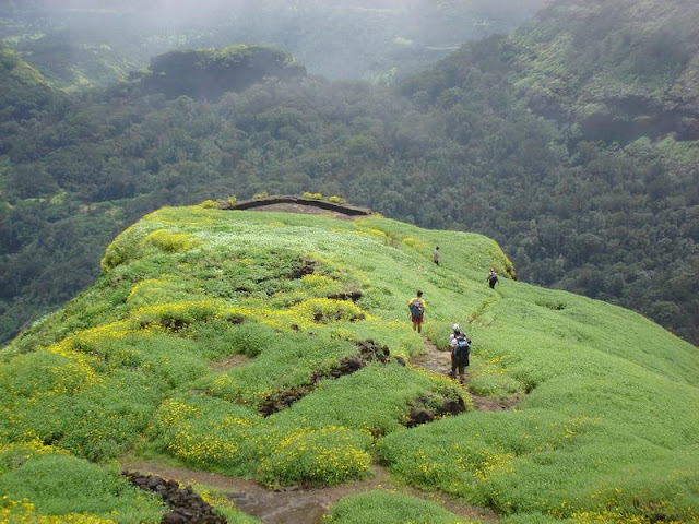 In the top of the Mountain - Ratnagiri