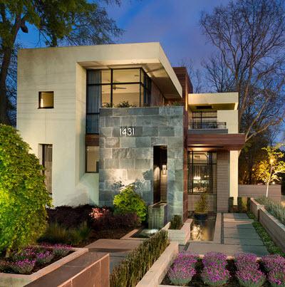 Fachadas de casas modernas todo para dise ar una hermosa for Fachadas de casas modernas con piedra