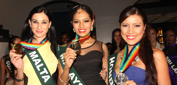 Miss Earth 2012 Talent Competition Winners