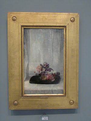 John La Farge Roses on a Tray