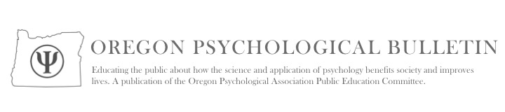 Oregon Psychological Bulletin