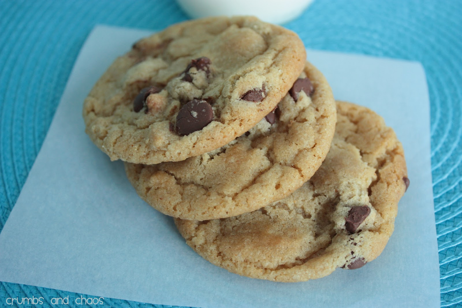 Brown Butter Chocolate Chip Cookies - Crumbs and Chaos