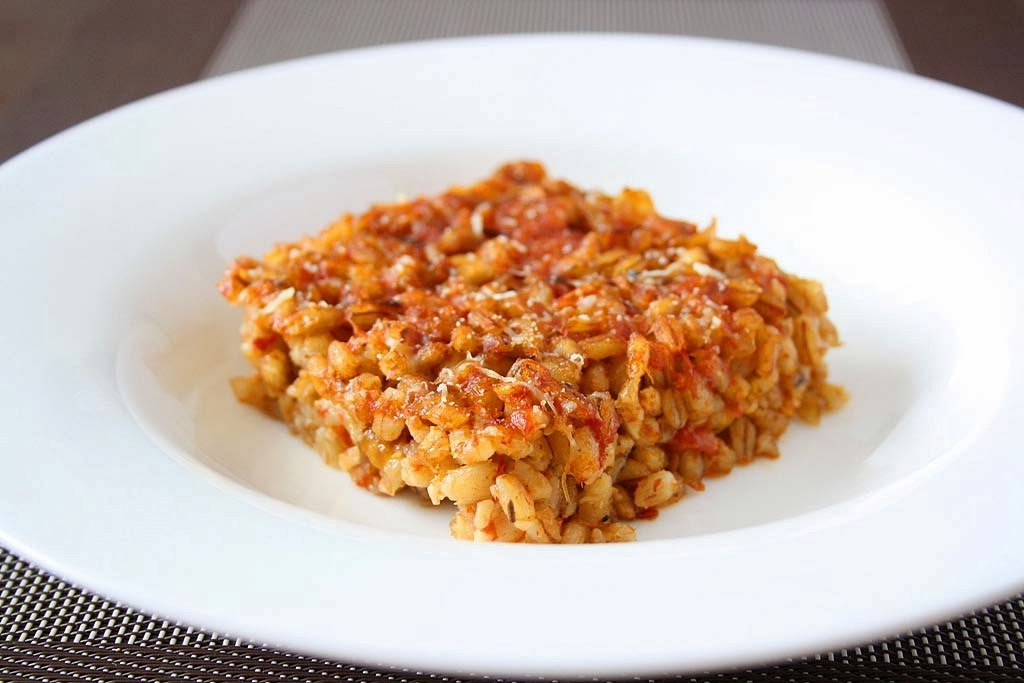 ... like all kinds of grains but farro is among my favourites