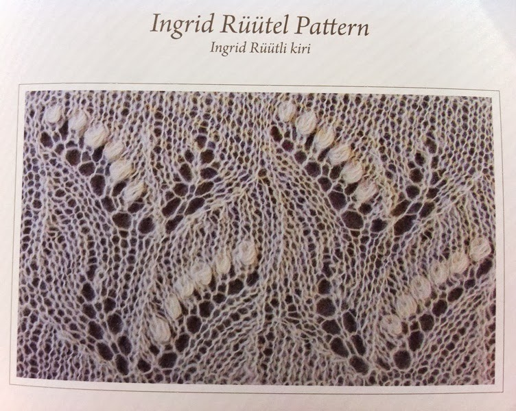 All Knitted Lace: Estonian Lace - New Year Resolution
