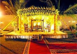 Latest Mehndi  Stages Decoration Designs Collection 2014 15