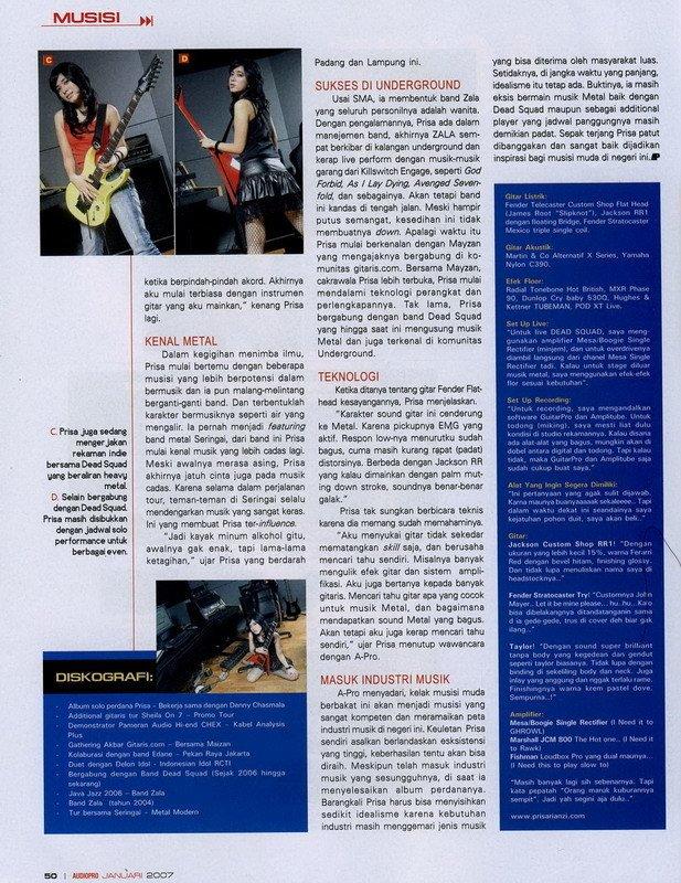 Koleksi Foto Prisa Majalah HAI