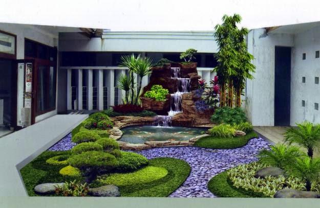 Desain Taman Rumah Minimalis