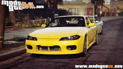 V - Nissan S15 para GTA V PC