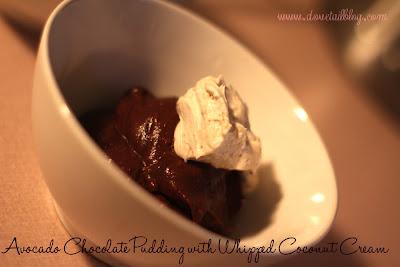 Hey Girl, I Love That Avocado Chocolate Pudding