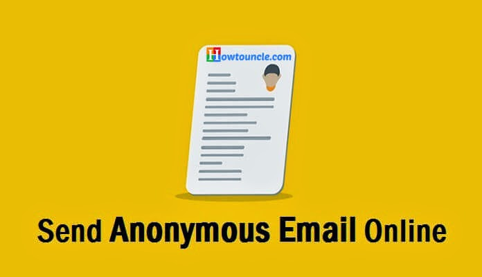 how to send anonymous email online free