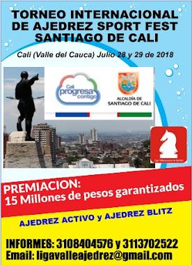IRT Torneo Internacional de Ajedrez SPORT FEST Santiago de Cali 2018 (Dar clic a la imagen)
