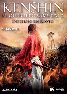 Kenshin, el guerrero samurái 2: Infierno en Kioto (2014) Online