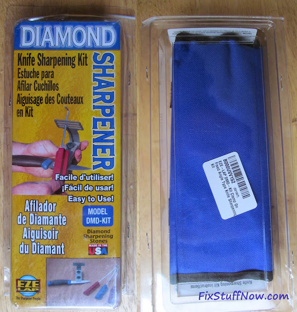 EZE-LAP DMD Fixed Angle Knife Sharpening System - In Package