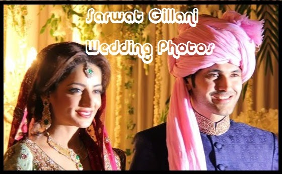 Sarwat Gillani Wedding Pictures