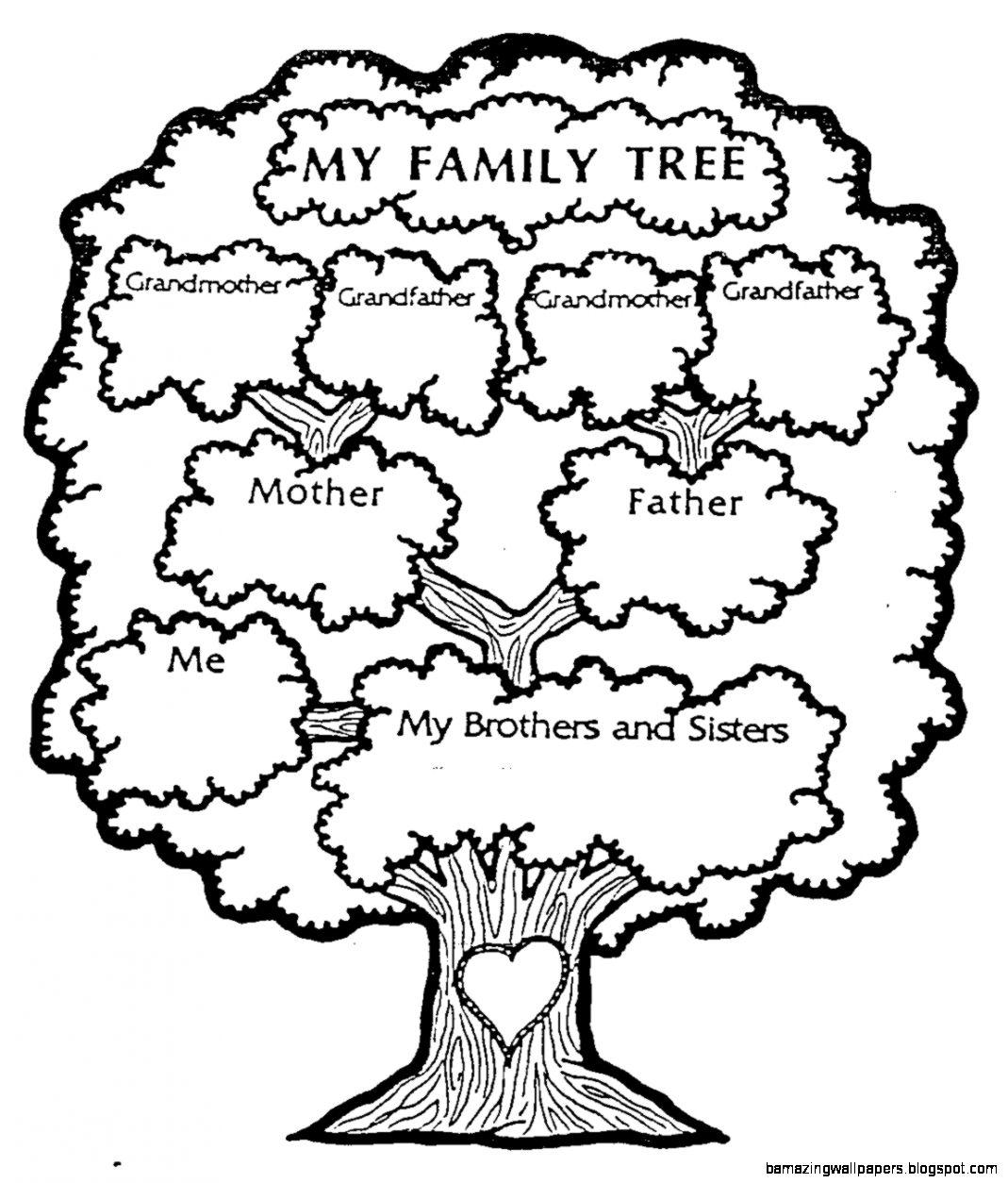 My Family Tree Printable