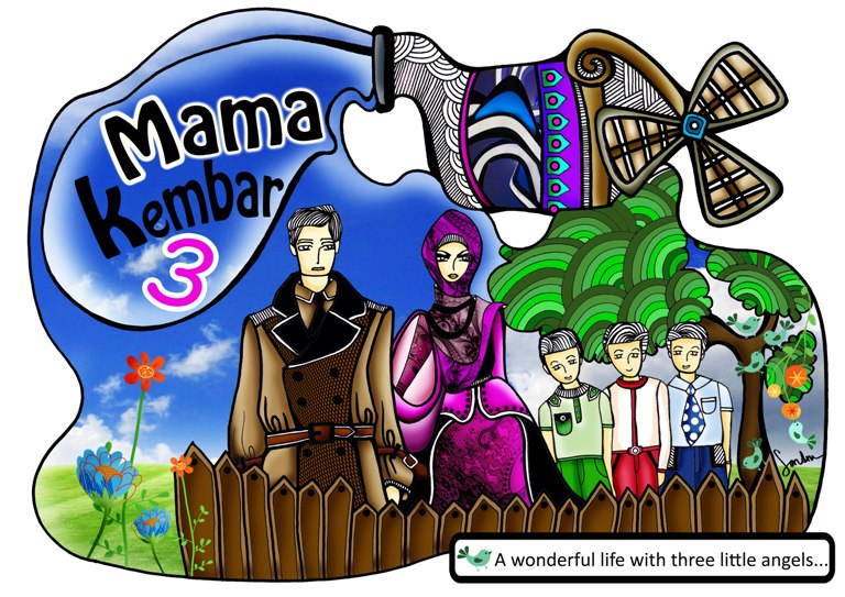 MAMA KEMBAR 3 - Personal, Parenting & Lifestyle Blogger