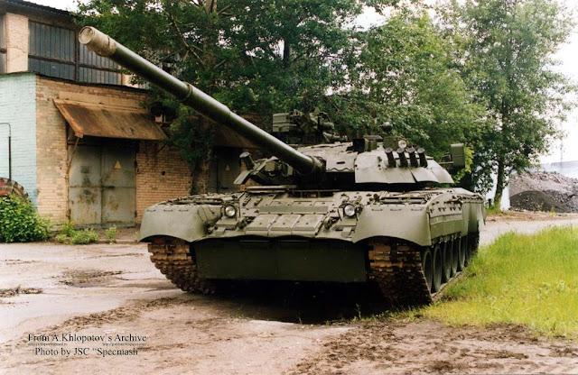 Модернизированный танк Т-80У-Е1 (объект 219АС-1)