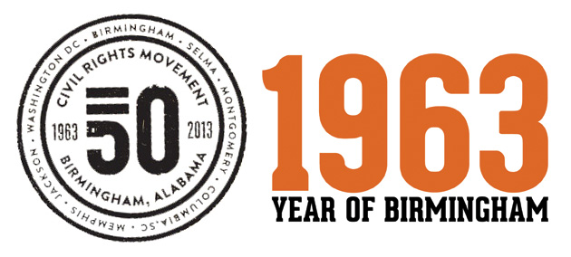 Birmingham 1963 logo