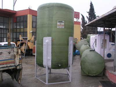 Tangki/Tanki Air Fiberglass
