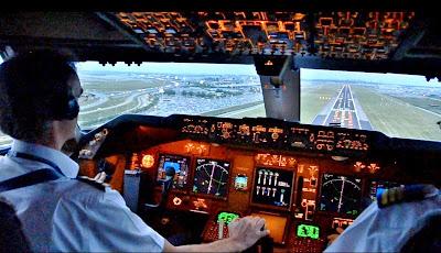 Cockpit Pesawat Terbang. ZonaAero